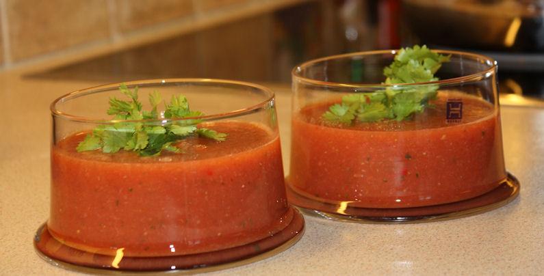 Mammas jordbærgazpacho