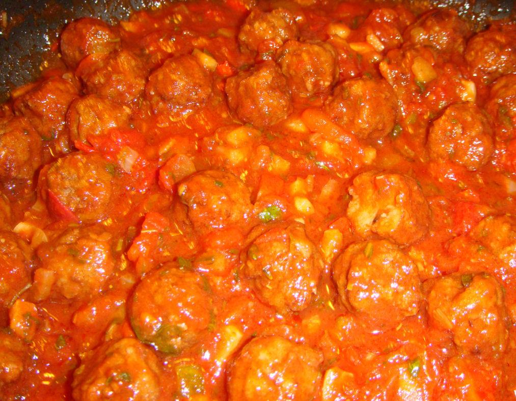 Albóndigas (spanske kjøttboller)