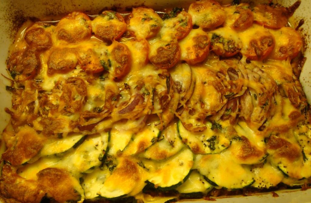 Kjøttform med grønnsaklokk