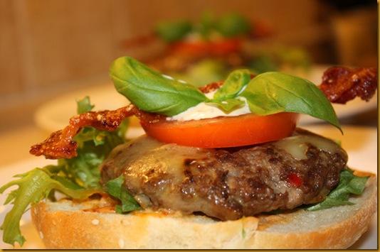 Deilige hamburgere