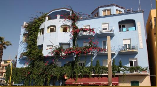 En blå hotellperle på Sicilia