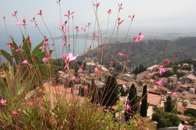 Fine Taormina ved foten av Etna