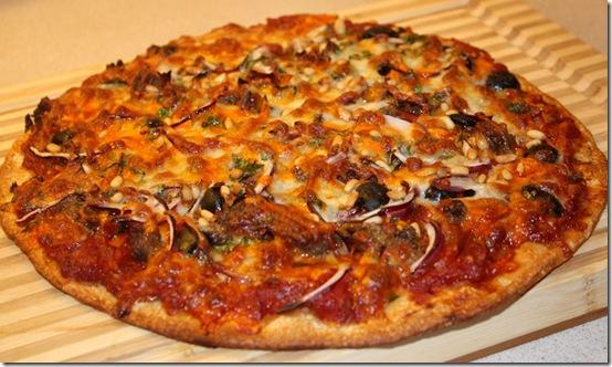 Nå lager jeg pizza igjen