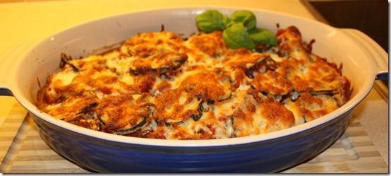Aubergine med parmesan/Melanzane alla Parmigiana
