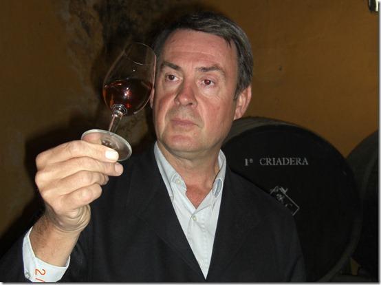 Jan er sherry- og brandykonge i Jerez
