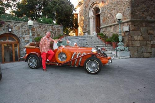 Slottsferie i Ligurien sommeren 2011