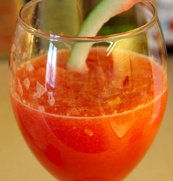 Deilig vannmelonjuice