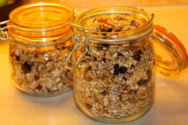 Hjemmelaget granola