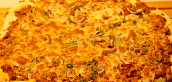 Pizza som i gamle da'r