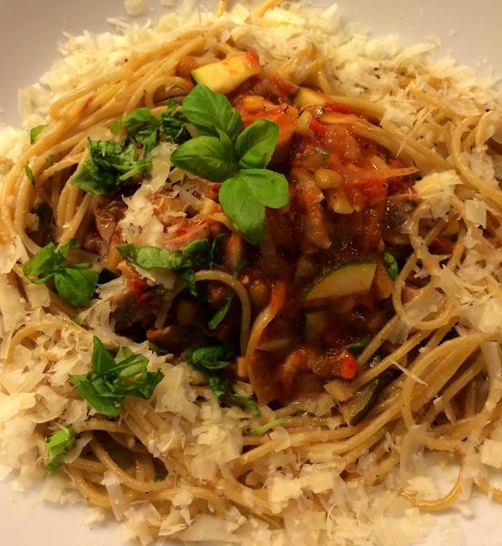Rask, enkel og smakfull pasta