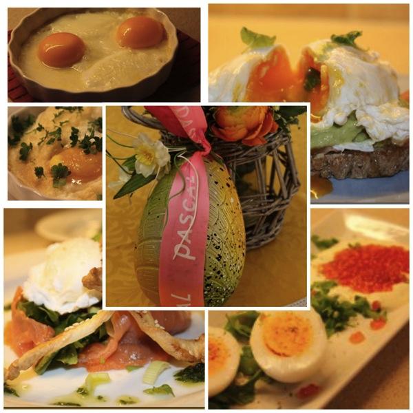 Egg til påskefrokosten