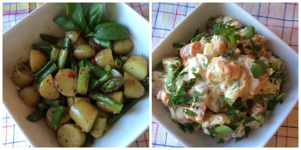Potetsalater til sommerens grilling