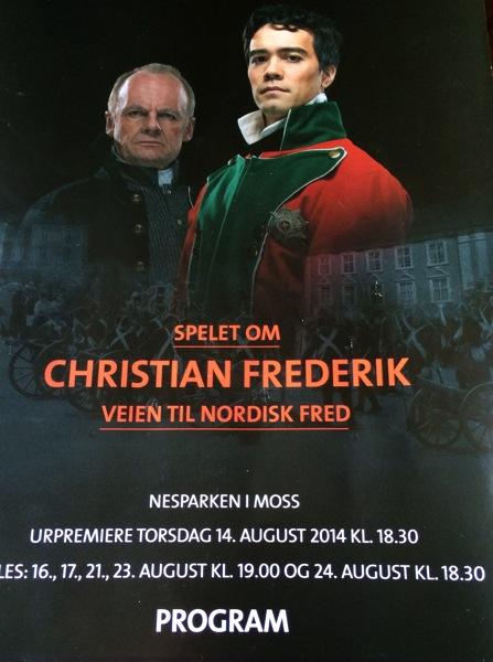 Flott spel om Christian Frederik og veien til fred