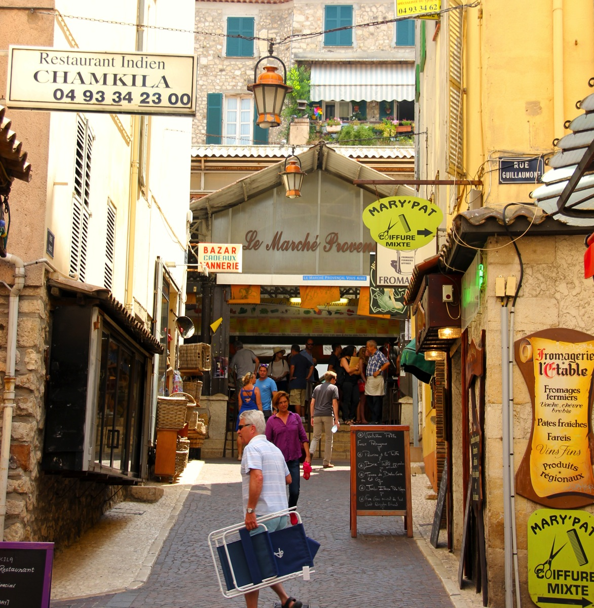 Antibes – en perle på Cote d'Azur