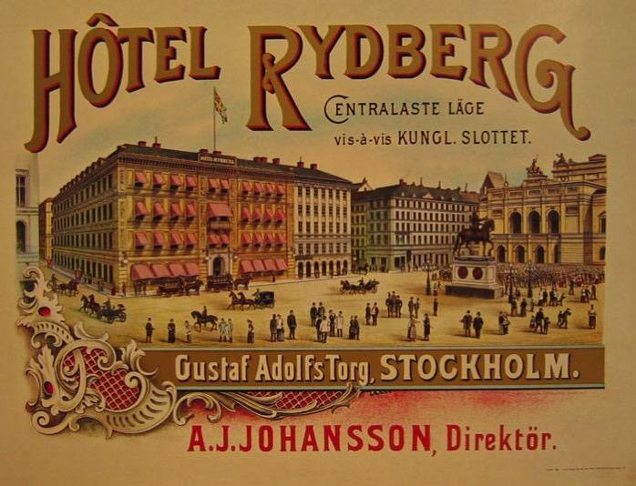 1900 hotel rydberg stockholm