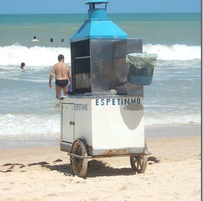"""Brasilianske """"restauranter"""" på stranden"""