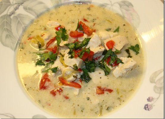 Tom Kha Gai-suppe