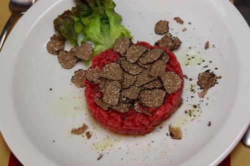 Italiensk tartar – carne cruda
