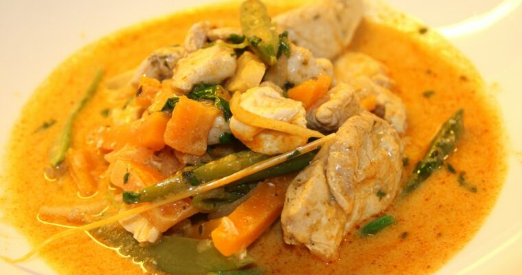 Thailandsk red curry