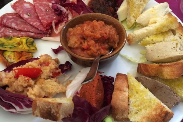 Herlige restauranter i Volterra