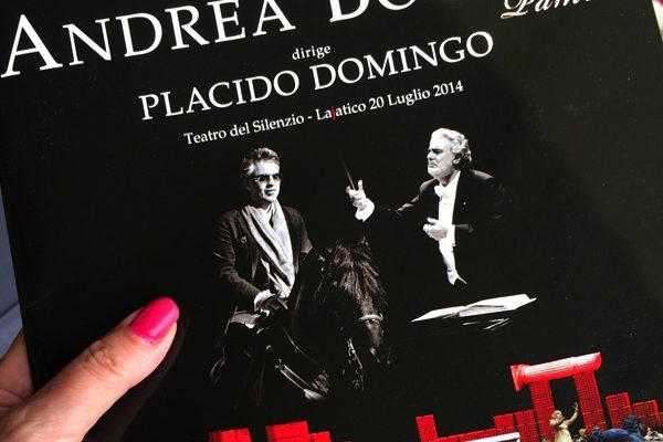 Andrea Bocelli på Teatro del Silenzio 2014