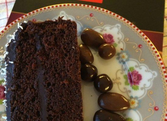 Saftig og god sjokoladekake