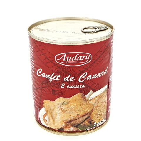 Sodicas conserverie audary confit canard 2 cuisses large