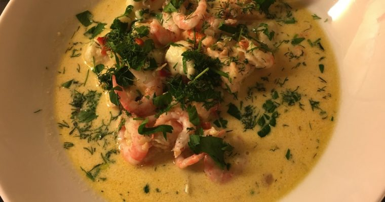 Smakfull fiskesuppe
