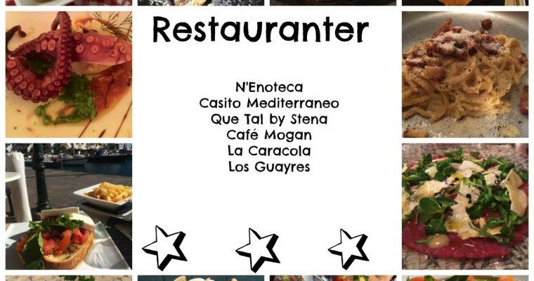 Puerto de Mogan – restaurantanbefalinger